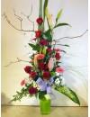 Centre alt flor variada