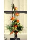Ram de 5 roses de color